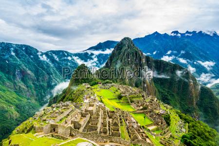 antigua ciudad inca de machu picchu