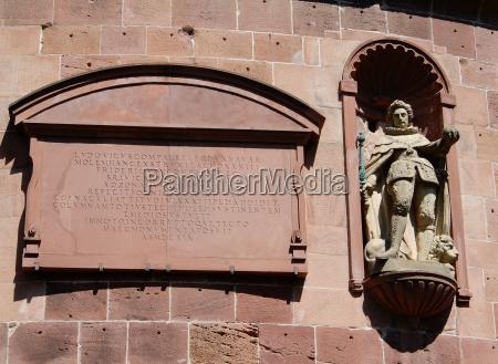 estatua europa arenisca alivio alemania de