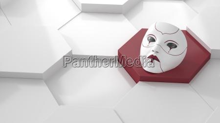 disenyo triste ojo organo soledad ilustracion