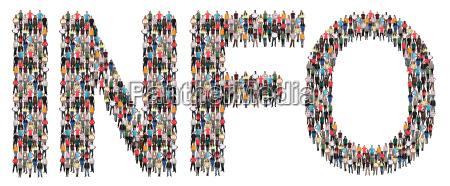 info information information help people people