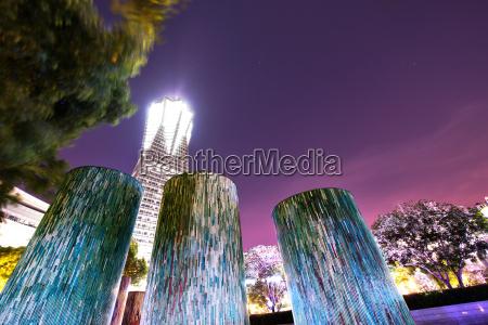 elementos decorativos de disenyo arquitectonico iluminado