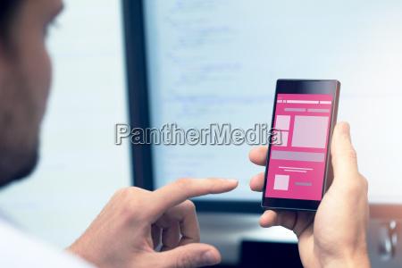 desarrollo de aplicaciones moviles programador con