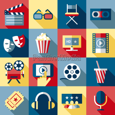 digital vector red blue 16 cinema
