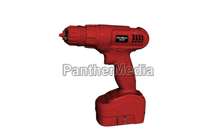 red cordless screwdriver