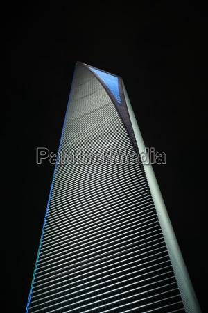 noite china shanghai world financial center