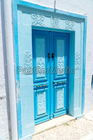 beautifully decorated entrance door of a