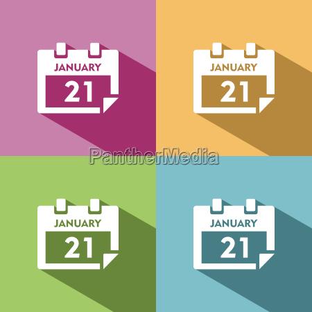 icono de calendario para eventos