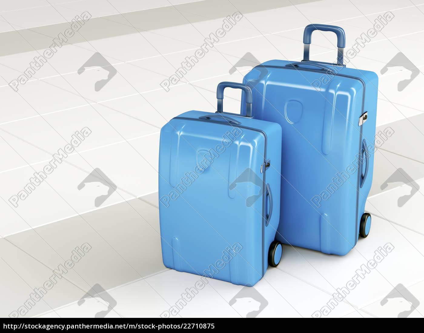bolsas, de, viaje, azules - 22710875
