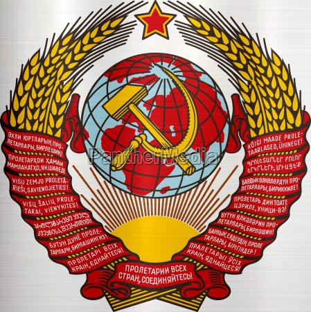 simbolico ilustracion sello union escudo de