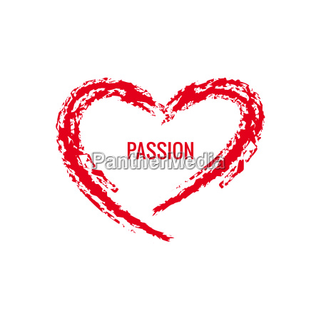 vector digital corazon rojo textura san