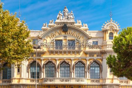 port authority barcelona spain