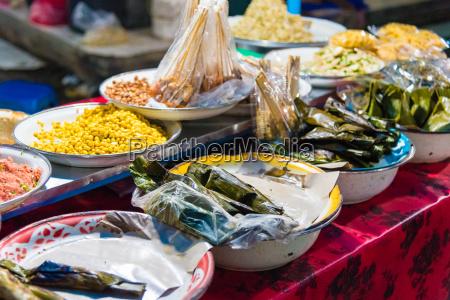 comida paseo viaje culturalmente famoso asia