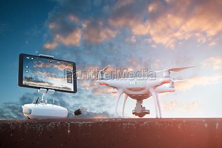 controlador moderno electronica puesta del sol
