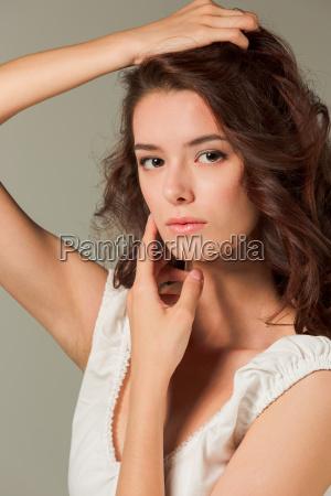mujer mujeres hermoso bueno estilo de