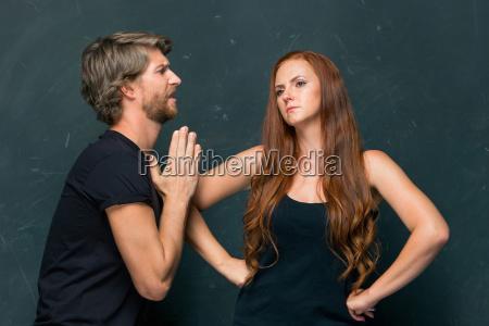el conflicto de la pareja