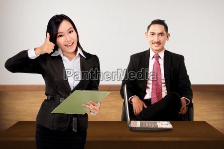 jefe y secretario