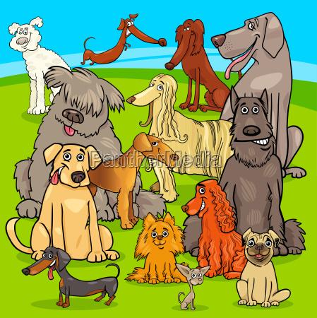 raza perros personajes de dibujos animados