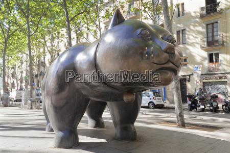 the cat el gat sculpture by