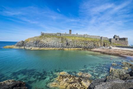 peel castle peel isle of man