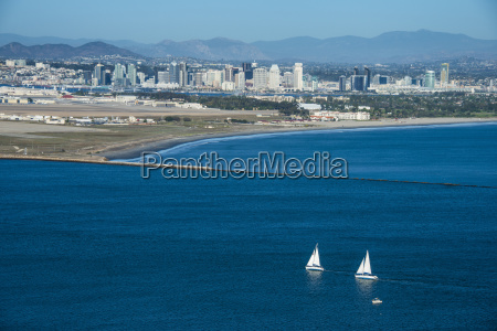view over san diego bay from