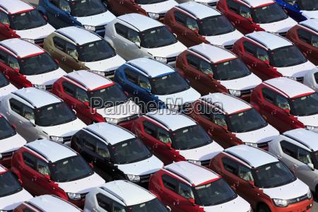 new cars port of zeebrugge blankenberge