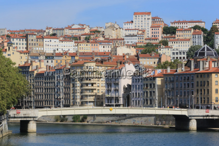 city of lyon rhone valley france
