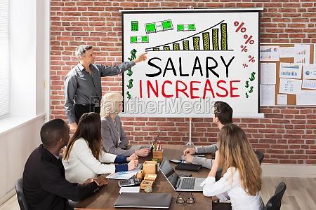 presentacion de aumento salarial