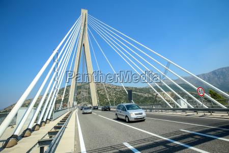 azul topo moderno trafego ponte luz