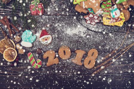 gingerbreads para los anyos nuevos y
