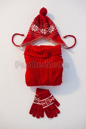 invierno lana textil octubre guantes sumision