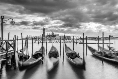 paseo viaje ciudad nube venecia gondola