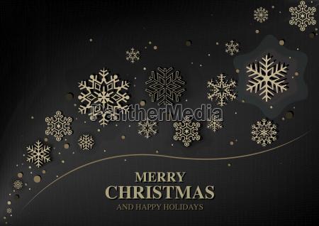 saludo moderno abstracto de la navidad