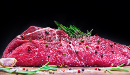comida cortar filete carnicero la carne