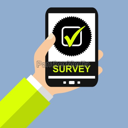 survey with the smartphone