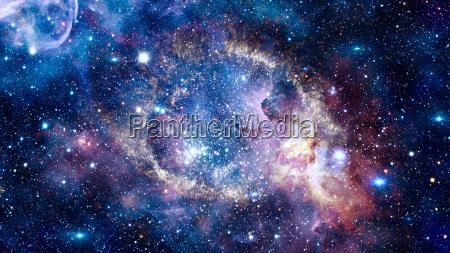azul espacio universo cosmos ciencia noche