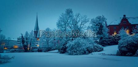 oldenburg in winter