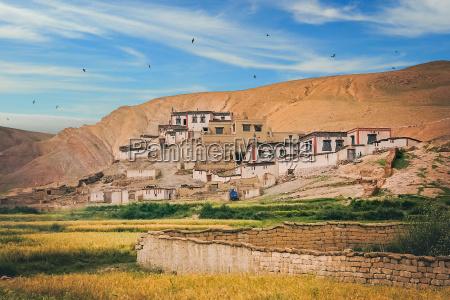 hogares tibetanos tradicionales