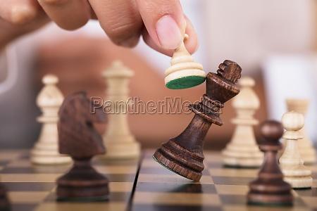 mano juego juega ganador ajedrez juego