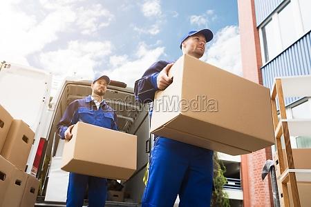 caja eliminacion pecho mensajero camion