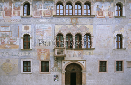 detalle arte primer plano pintura fachada