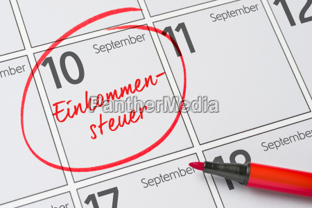 income tax september 10