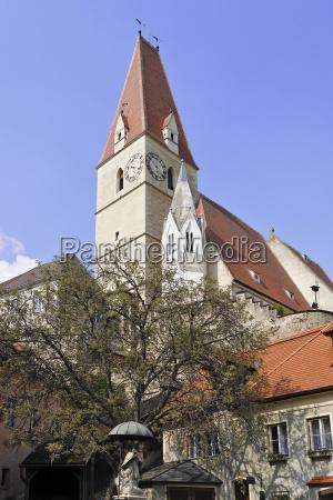 church of weissenkirchen wachau niederosterreich austria