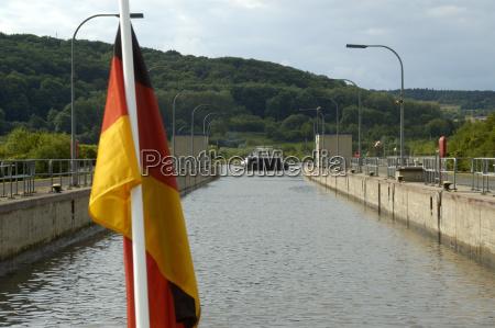 conducir paseo navegacion europa canal baviera