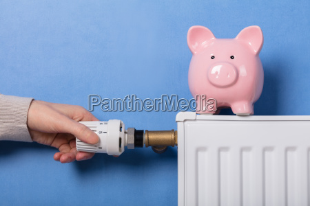 termostato de ajuste manual de la