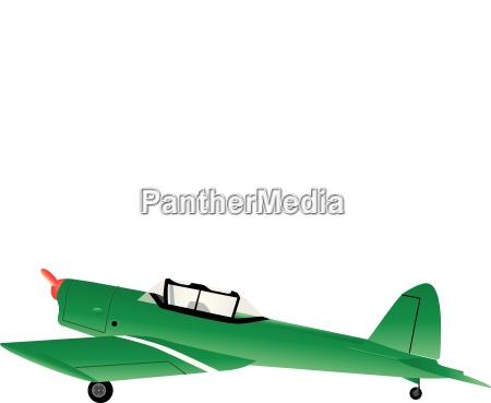 avion de entrenamiento