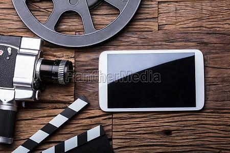 telefono movil camara lichtspiel tableta video