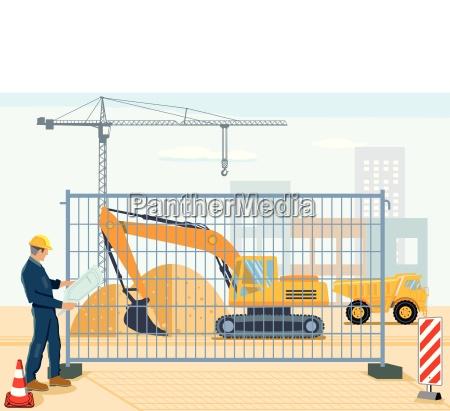 planificacion en el sitio de construccion