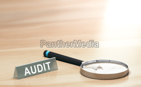 audit background finance or accounting concept
