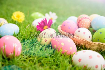 feliz pascua primeros huevos
