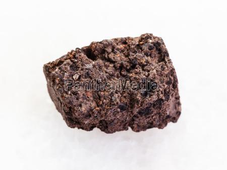 objeto primer plano piedra marron aspero